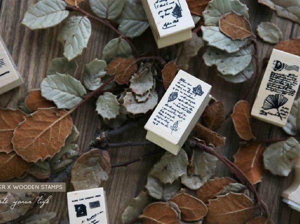 13 3 600x448 - CARD LOVER - Vintage Wooden Stamps 2017