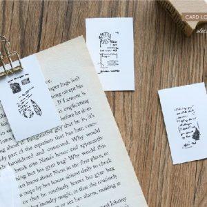 14 2 300x300 - CARD LOVER - Vintage Wooden Stamps 2017