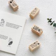 7 7 180x180 - CARD LOVER - Vintage Wooden Stamps 2017