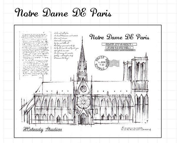 Paris 600x485 - MOODTAPE® x Notre Dame de Paris