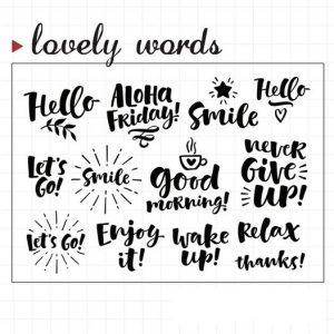 lovelywords1 300x300 - MOODTAPE® x Lovely Words 1