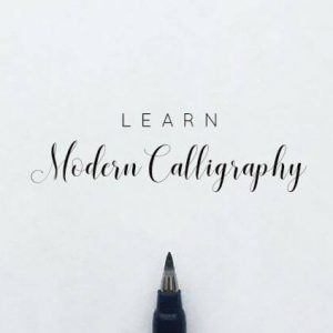22 300x300 - Modern Calligraphy: A Beginner's Guide to Pointed Pen Lettering