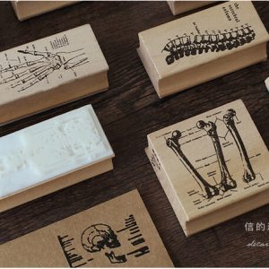 planner art journaling wooden stamp stationery Malaysia