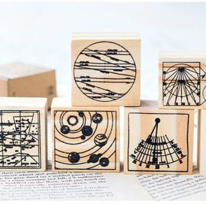 Vintage Wooden Rubber Stamps Malaysia